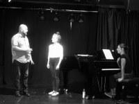 Stage de chant / avec Agnès Rouquette (cheffe de chant) et Arnaud Guillou (travail scénique) / Paris / 2020