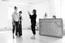 Stage de chant / avec Agnès Rouquette (cheffe de chant), Camille Poul (technique Alexander) et Arnaud Guillou (travail scénique) / Fontenay-sous-Bois / 2018