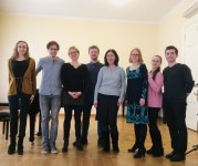 Académie Gnessine / avec Emmanuel Christien / Moscou / 2018