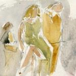 Le Petit Faust / Hervé   I   Les Frivolités parisiennes   I   aquarelle Luc de Moustier