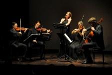 avec le Quatuor Gémeaux   I    Britten Theatre (London)