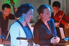 avec Clémentine Margaine et l'ensemble Pulcinella   I    Les Athénéennes (Suisse)  I   © Juan Carlos Hernandez